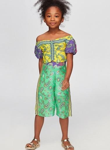 Tyess Tyess B&G Renkli Kız Çocuk Pantolon Renkli